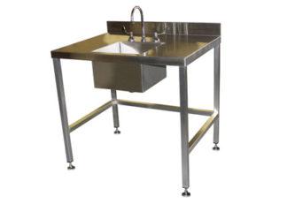 SurgiKleen Stainless Steel Freestanding Sink Table