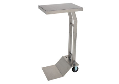 SterilKleen® stainless steel mobile surgical instrument stand