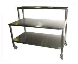 SterilKleen Stainless Steel Mobile Surgical Workstation