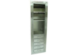 SterilKleen open storage operating room cabinet