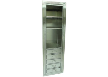 SterilKleen open storage operating room cabinet