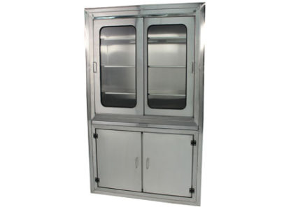 SterilKleen stainless steel surgical operating room cabinet