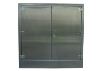 SterilKleen® Stainless Steel Laboratory Wall Custom Casework Cabinet