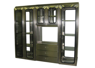 SterilKleen® Stainless Steel Sloped Top Custom Casework Cabinet