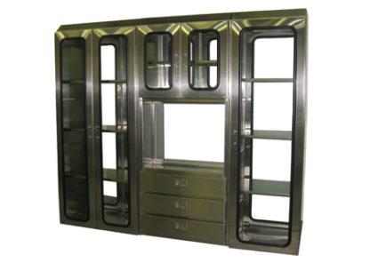 SterilKleen® Stainless Steel Sloped Top Custom Casework Cabinet