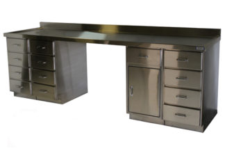 SterilKleen® Stainless Steel Casework Reception Desk image