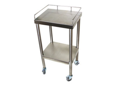 SterilKleen® Stainless Steel Surgical Utility Table Cart without Drawers