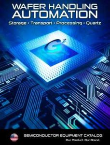 Semiconductor and Wafer Handling Catalog Cover Providing Link to G2 Semiconductor Products Catalog